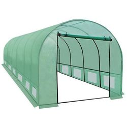 Malatec Tunel ogrodniczy foliowy ogrodowy szklarnia 6x3x2m 6x3