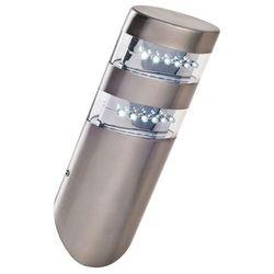 Rabalux Zewnętrzna lampa ścienna montana 8301  ip44 kinkiet oprawa elewacyjna minimalistyczna outdoor stal nierdzewna biała