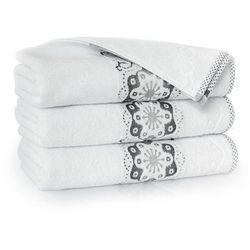 Ręcznik victoria 50x100 biały marki Zwoltex