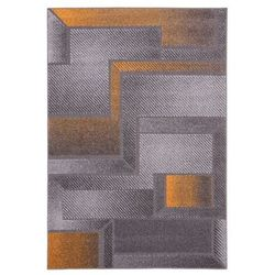 Dywan Meteo Patts 160 x 230 cm złoty (5901760147989)