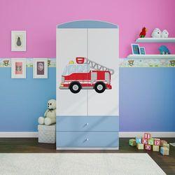 Szafa dwudrzwiowa straż pożarna, kolory marki Kocot-meble
