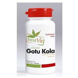 Gotu kola 450 mg 100kaps wyprodukowany przez Bestvit