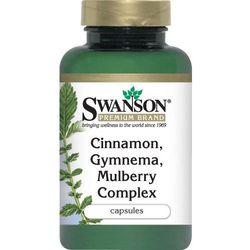 Kompleks cynamonu, gymnemy i morwy 120kaps - produkt z kategorii- Pozostałe akcesoria dla cukrzyków