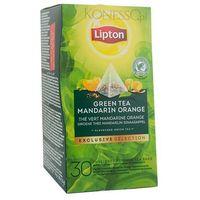 Lipton Zielona herbata  piramida green tea mandarin orange 30 kopert