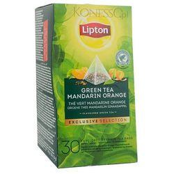 Zielona herbata Lipton Piramida Green Tea Mandarin Orange 30 kopert z kategorii Zielona herbata