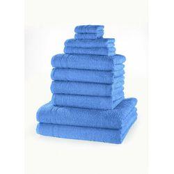 Komplet ręczników (10 części) morski marki Bonprix