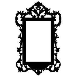 Szablon samoprzylepny do dekoracji dowolnej powierzchni rama 2 marki Szabloneria