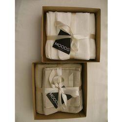Pościel lniana dziecięca boutique biała 100x135 marki Moods