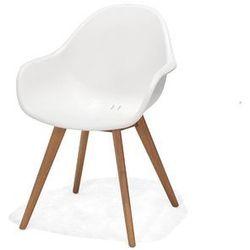 Obi fotel montreux biały marki Obi living garden
