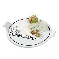 Cilio - formaggio - porcelanowy talerz do sera (średnica: 26 cm)