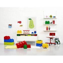pudełko okrągłe ø 12 x 18 cm, żółty marki Lego®