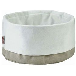 - bawełniany pojemnik na pieczywo - beżowo-biały od producenta Stelton
