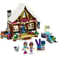 Lego FRIENDS Górski domek snow resort chalet 41323
