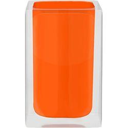 Wenko pojemnik cube, pomarańczowy, 7x7x11 cm