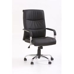 Fotel gabinetowy Halmar Hamilton czarny, BP821057