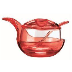 murano cukiernica czerwona 23470065 marki Guzzini