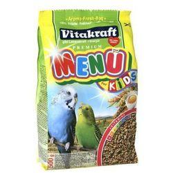 Vitakraft Menu Vital Papuga falista Miodowa 500g - produkt z kategorii- pokarmy dla ptaków