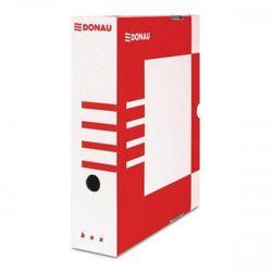 Pudło archiwizacyjne DONAU 80mm czerwone 7660301FSC-04