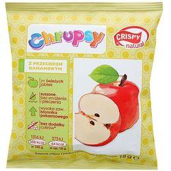 CRISPY NATURAL 18g Chrupsy Suszone chipsy z jabłka z przecierem bananowym | DARMOWA DOSTAWA OD 200 ZŁ - spra