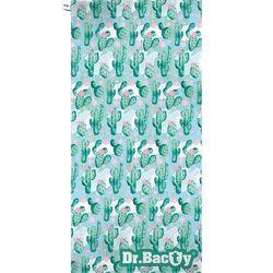 Dr.bacty xl szybkoschnący ręcznik treningowy 70x140 cm / kaktus zielony - kaktus zielony