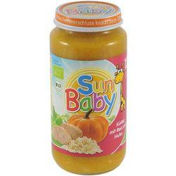 12 mc dynia z ryżem i kurczakiem bezglutenowa bio 250 g - sun baby, marki Sun baby (baby sun) - (dla niemowl�