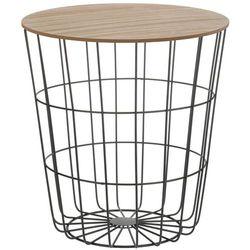 Wielofunkcyjny koszyk do przechowywania - siedzisko, stolik 2w1