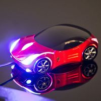 Myszka supercar - czerwona - czerwony marki Gadget master