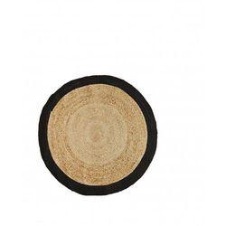 Madam Stoltz - Okrągły dywan z juty