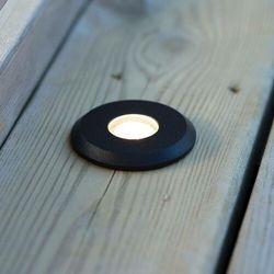 Markslojd garden24 107285 lampa najazdowa ogrodowa 1x3w led ip44 czarna (7330024577091)