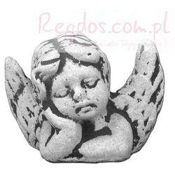 Figura ogrodowa betonowa aniołek 7cm