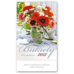 Kalendarz ścienny 2017, Bukiety kwiatów, towar z kategorii: Kalendarze