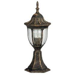 Zewnętrzna LAMPA stojąca MILANO 8373 Rabalux IP43 OPRAWA ogrodowa SŁUPEK outdoor złoto antyczne - sprawdź w =MLAMP.pl= | Rozświetlamy Wnętrza