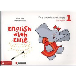 English With Ellie 1 Karty Pracy Dla Przedszkolaka Z Płytą Cd, książka w oprawie miękkej