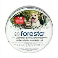 foresto obroża przeciw pchłom i kleszczom dla psów i kotów 38cm marki Bayer