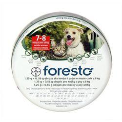 foresto obroża przeciw pchłom i kleszczom dla psów i kotów 38cm, marki Bayer