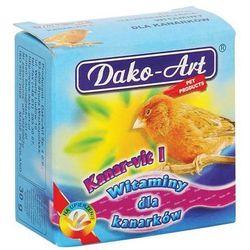DAKO-ART Kanar-Vit I - witaminy dla kanarków 30g - sprawdź w wybranym sklepie