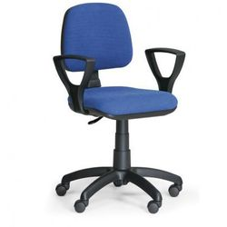 B2b partner Biurowe krzesło milano z podłokietnikami - niebieske