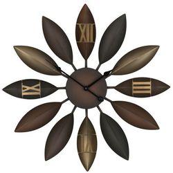 Zegar ścienny brązowy BEINWIL, kolor brązowy