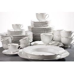 OXFORD VICTORIA - Zastawa stołowa obiadowo-kawowa 42 części na 6 osób
