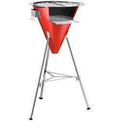 - grill ogrodowy - fyrkat cone - czerwony - czerwony wyprodukowany przez Bodum