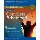 Complete Advanced 2nd Edition. Podręcznik bez Klucza + CD (2014)