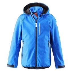 Bluza SOFTSHELL na polarze kurtka Reima Kartta niebieska - produkt z kategorii- Pozostała moda i styl
