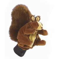 Pacynka do zabaw w teatrzyk - wiewiórka marki Beleduc
