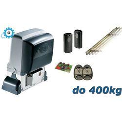 XL Zestaw CAME BX74 do 400kg - komplet - 4mb listwy zębatej
