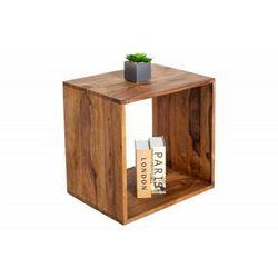 INVICTA stolik nocny MAKASSAR II 45 cm - Sheesham, drewno naturalne