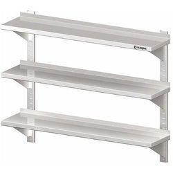 Półka wisząca przestawna potrójna 1000x400x930 mm   , 981794100 marki Stalgast