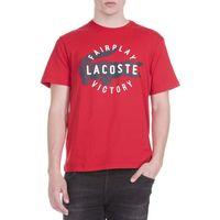 Lacoste T-shirt Czerwony M