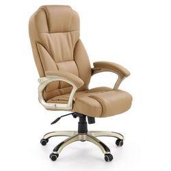 Fotel gabinetowy Halmar Desmond beżowy