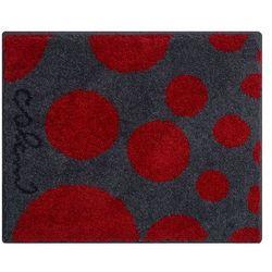 dywanik łazienkowy colani 16, czerwona, 50x60 cm marki Grund