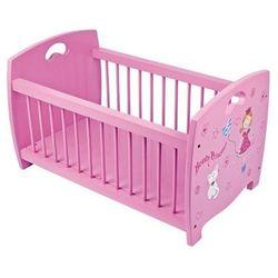 Drewniane łóżeczko dla lalek księżniczka marki Small foot design
